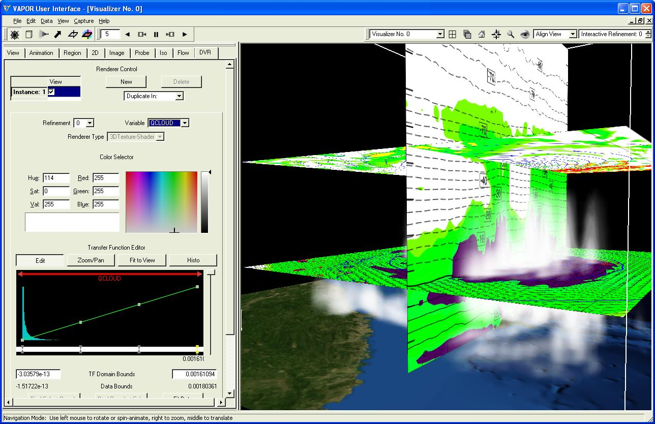 Using Ncl With Vapor To Analyze Wrf Arw Data In 3d