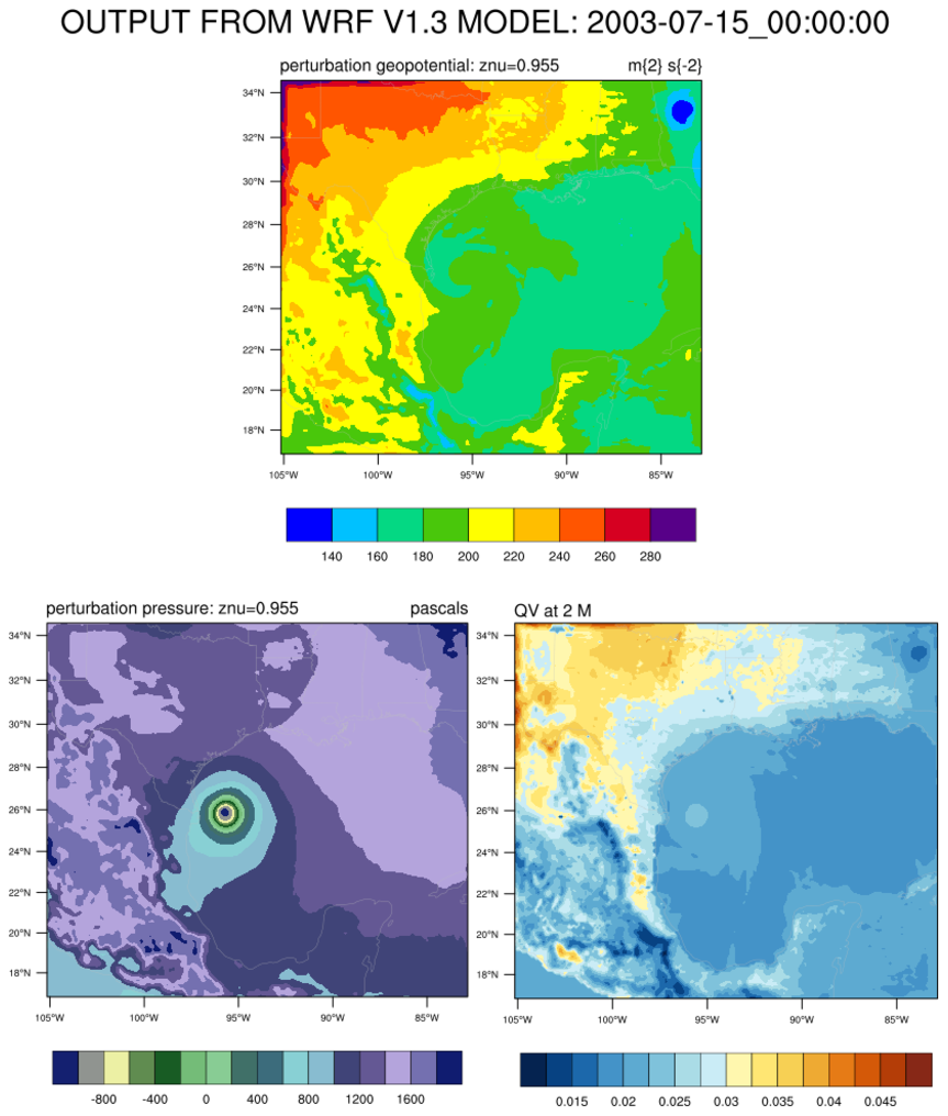 NCL Graphics: Plotting WRF-ARW on Mercator projection on
