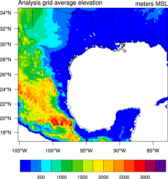 NCL Graphics: WRF (static)