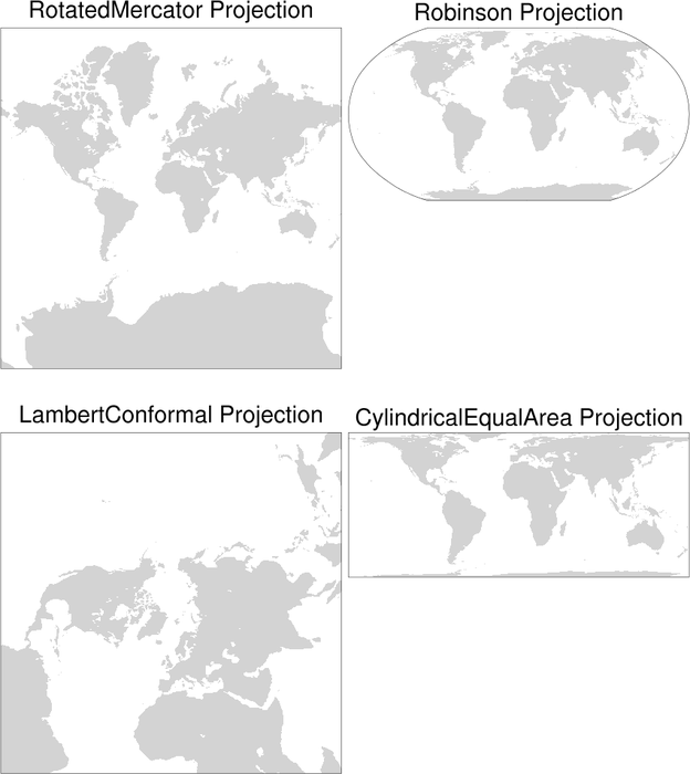 NCL Graphics: Map only plots