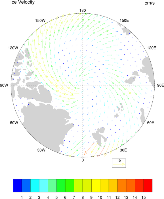 NCL Graphics: Polar Stereographic Projections