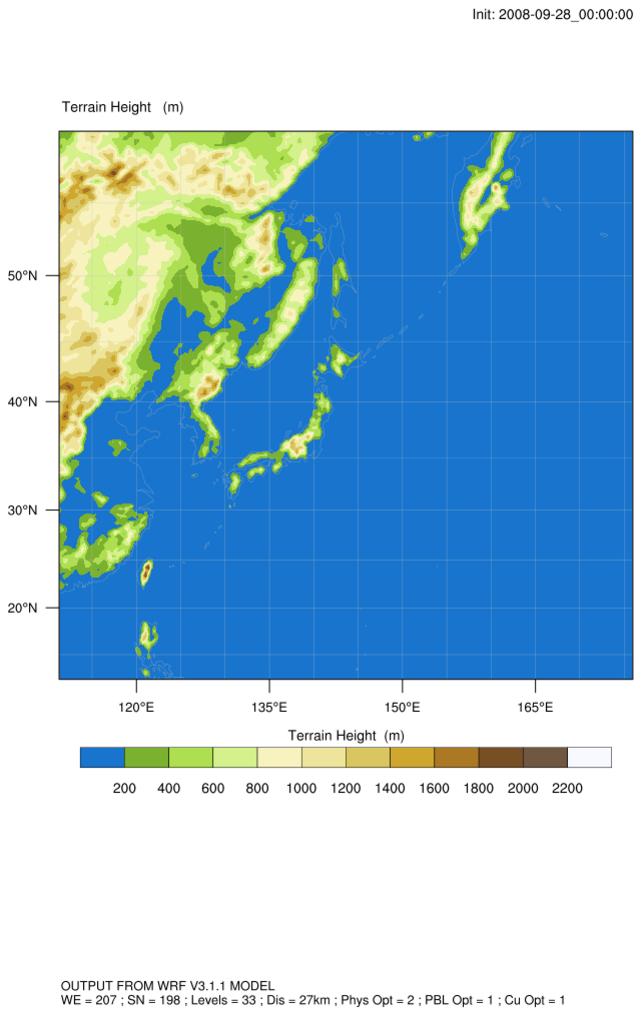 NCL Graphics: Using gsn_csm scripts to plot WRF-ARW data