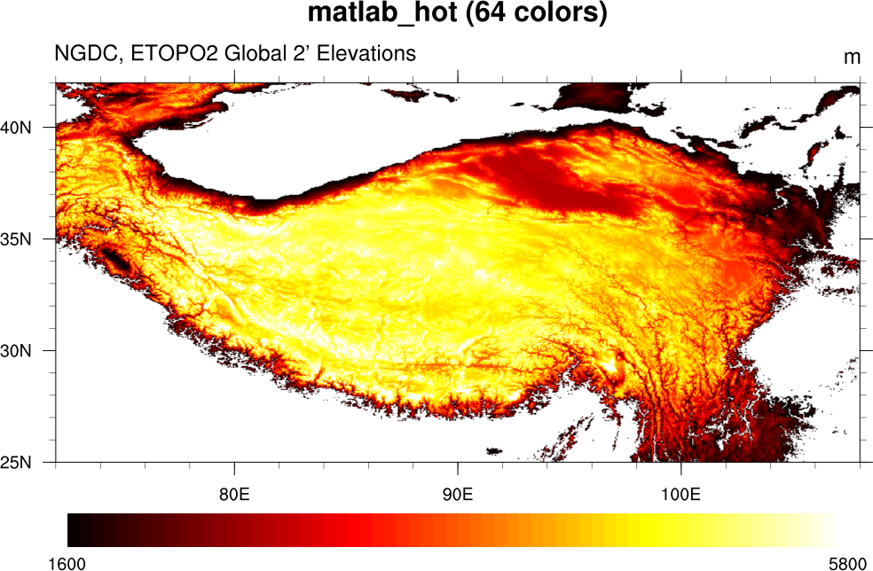 matlab_hot color table