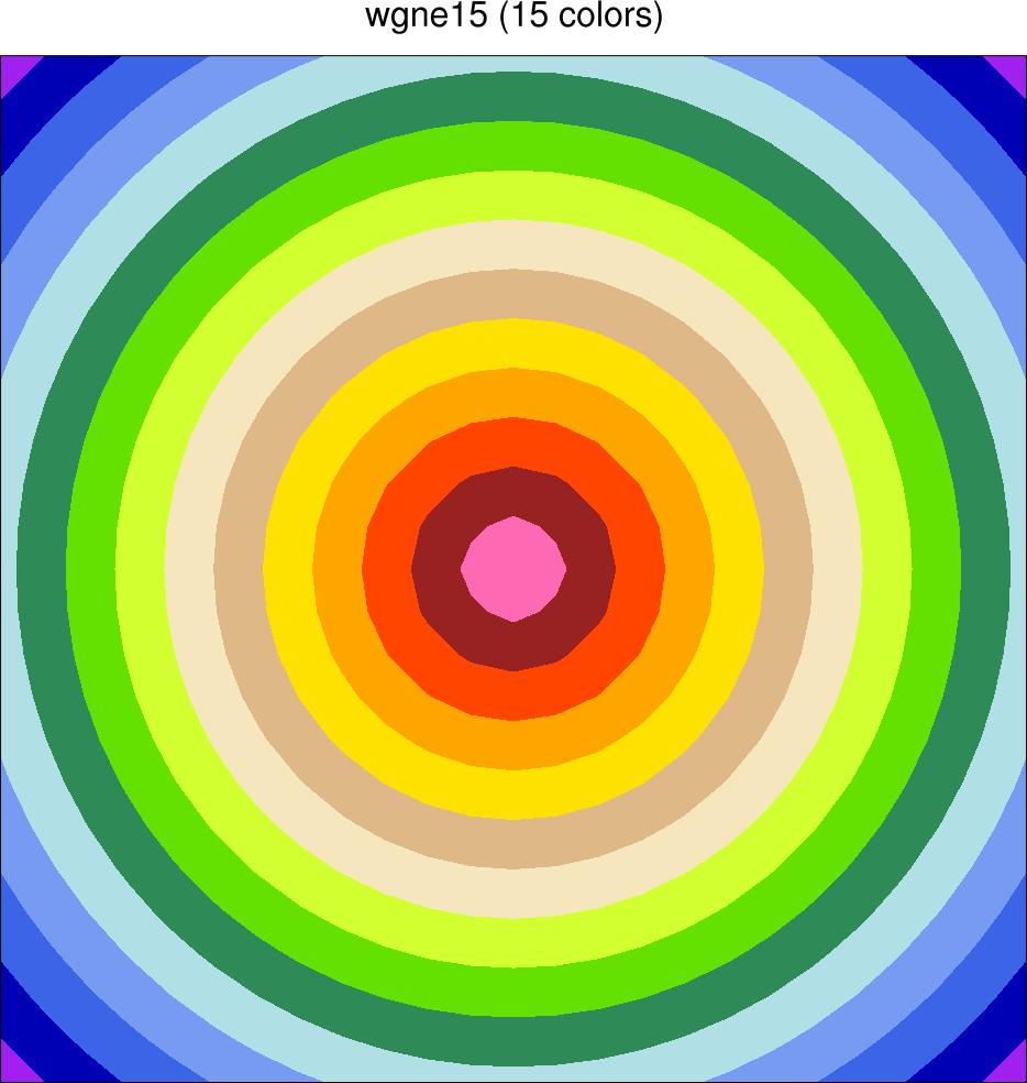 wgne15 color table